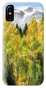 Kananaskis Autumn Morn IPhone Case