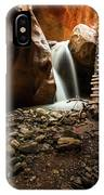 Kanarra Creek Falls  IPhone Case