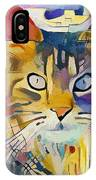 Kandinsky Cat IPhone Case