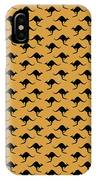 Kangaroo Pattern IPhone Case