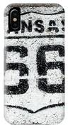 Kansas 66 IPhone Case