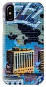 Kansas City Jazz Mural IPhone Case