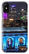 Kansas City Vibrant At Night IPhone Case