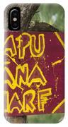 Kapu Hana Wharf IPhone Case