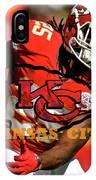 Kareem Hunt, Kansas City Chiefs IPhone Case