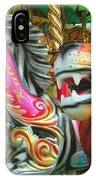 Kate The Zebra And  Lion Carousel  IPhone Case