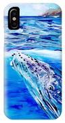Kauai Humpback Whale IPhone Case