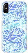 Kaua'i Ocean Leaves IPhone Case