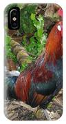Kauai Rooster IPhone Case
