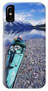 Kayak Ashore IPhone Case