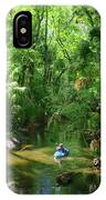 Kayaking In Tropical Paradise IPhone Case