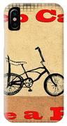 Keep Calm Ride A Bike IPhone Case