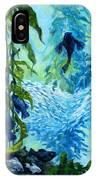 Kelp Tank, Monterey Bay Aquarium IPhone Case