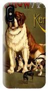 Kennel Club IPhone Case