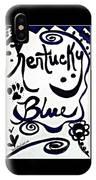 Kentucky Blue IPhone X Case
