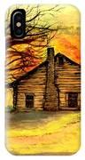 Kentucky Cabin IPhone Case