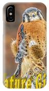 Kestrel Nature Wear IPhone Case