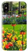 Keukenhof Ornamental Garden. IPhone X Case