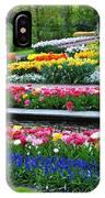 Keukenhof Tulips Ornamental Garden  IPhone X Case