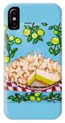 Key Lime Pie Mini Painting IPhone Case