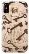 Keys On Artwoork IPhone Case