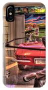 Kickin' Beck On Route 66 IPhone Case