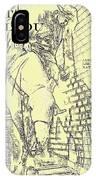 Kid Shelleen, Cat Ballou, Academy Award Winner  Lee Marvin IPhone Case