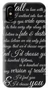 Kiersten White Quote IPhone X Case