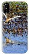 Killdeer Coming In For A Landing IPhone Case