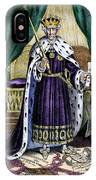 King Andrew The First IPhone Case