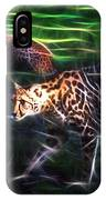 King Cheetah And 3 Cubs IPhone Case