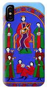 King David And His Musicians IPhone Case