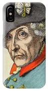 King Frederick II Of Prussia IPhone Case