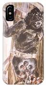King Kong - Flashbulbs Anger Kong IPhone Case