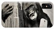 King Kong Selfie IPhone Case