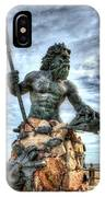 King Neptune Virginia Beach  IPhone Case