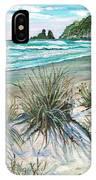 King Tide-whangamata Nz IPhone Case