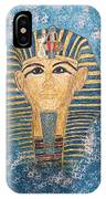 King Tutankhamun Face Mask IPhone Case