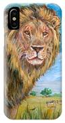 Kingdom Of The Lion IPhone Case