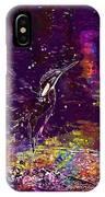 Kingfisher Bird Alcedo Atthis  IPhone Case