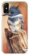 Kingfisher I IPhone Case