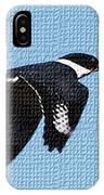 Kingfisher In Flight IPhone Case