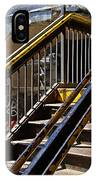 Kings Hwy Subway Station In Brooklyn IPhone Case