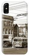 Kingston Corners Kingston Pa Early 1950s IPhone Case