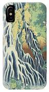 Kirifuri Falls Near Mount Kurokami In Shimotsuke Province IPhone Case