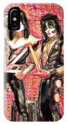Kiss Watercolor IPhone Case