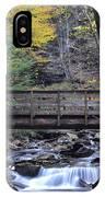 Kitchen Creek Bridge IPhone Case