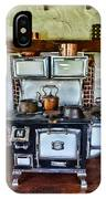 Kitchen - The Vintage Stove IPhone Case