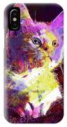Kitty Cat Kitten Pet Animal Cute  IPhone Case
