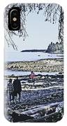 Kitty Colemans Beach - Bc IPhone Case